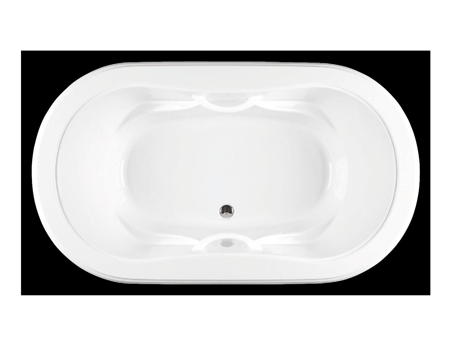 Bainultra Elegancia 7242 two person large air jet bathtub for your Victorian bathroom