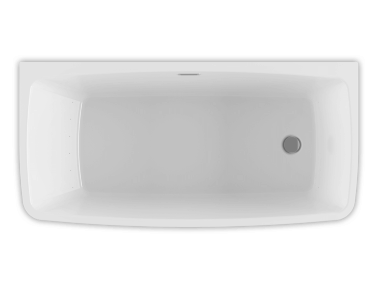 Bainultra Vibe Back To Wall 5828 air jet bathtub for your master bathroom