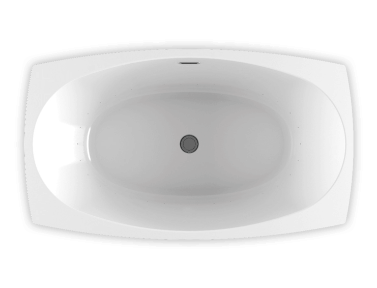 Bainultra Esthesia 6638 freestanding air jet bathtub for your modern bathroom