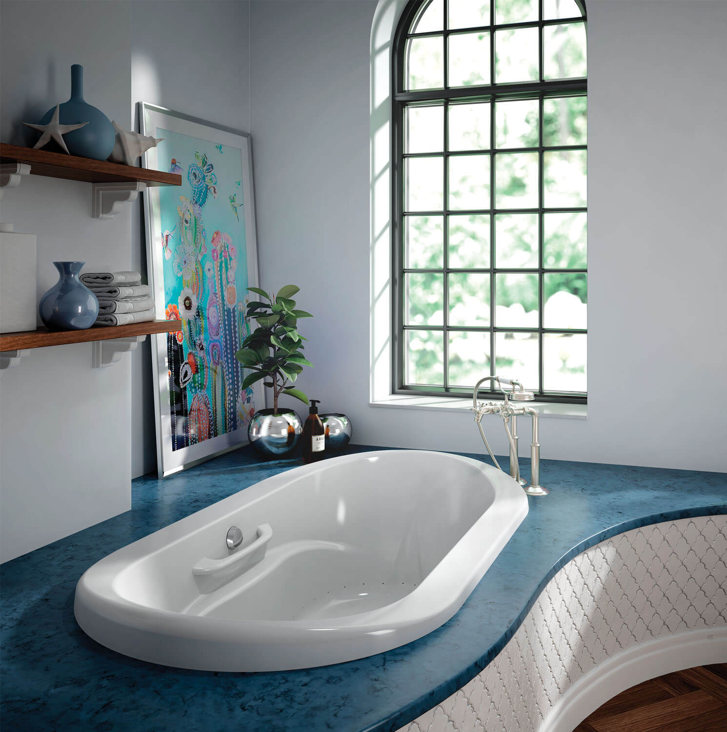 Two person air jet tub for your master bathroom | BainUltra Amma ...
