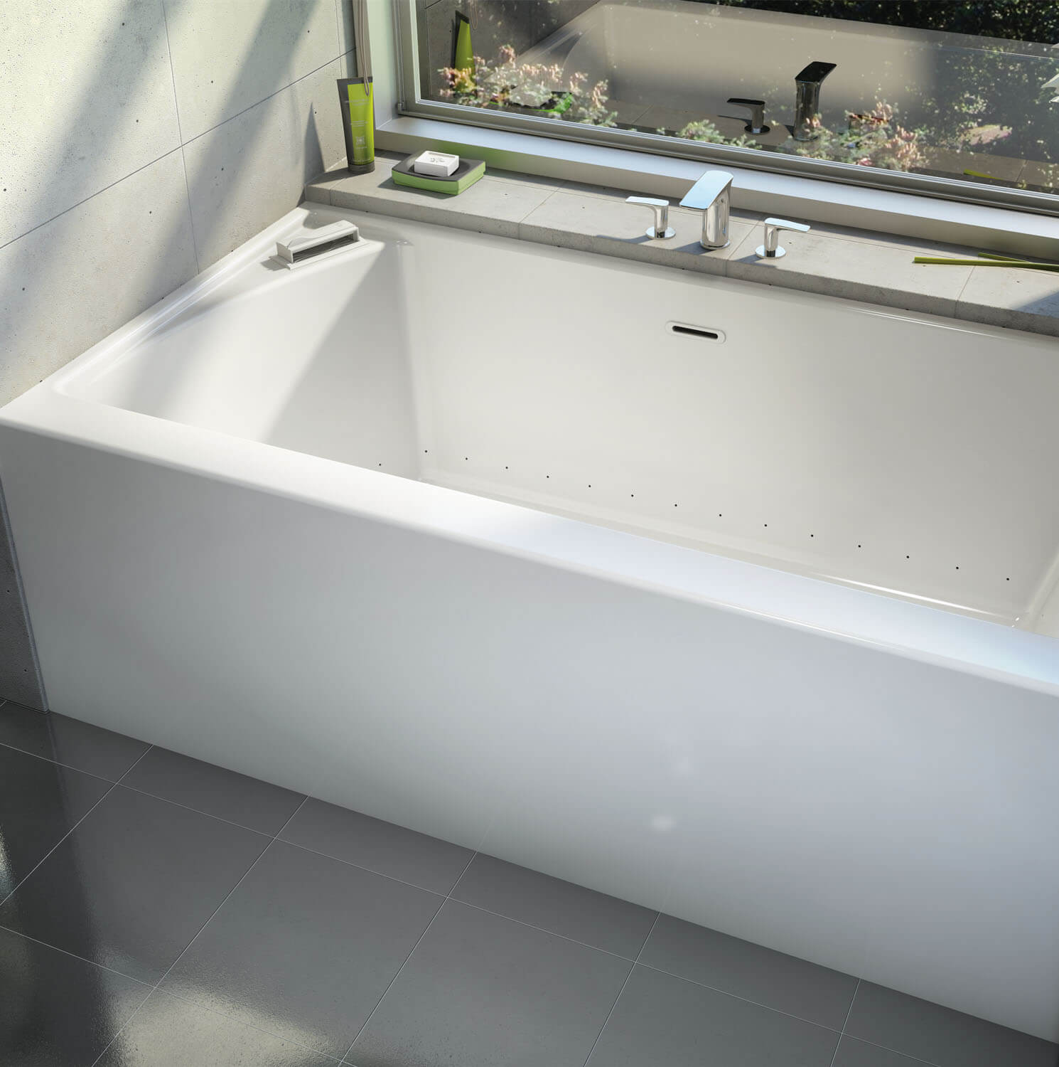 Alcove air jet tub | BainUltra Citti® 6032 without insert
