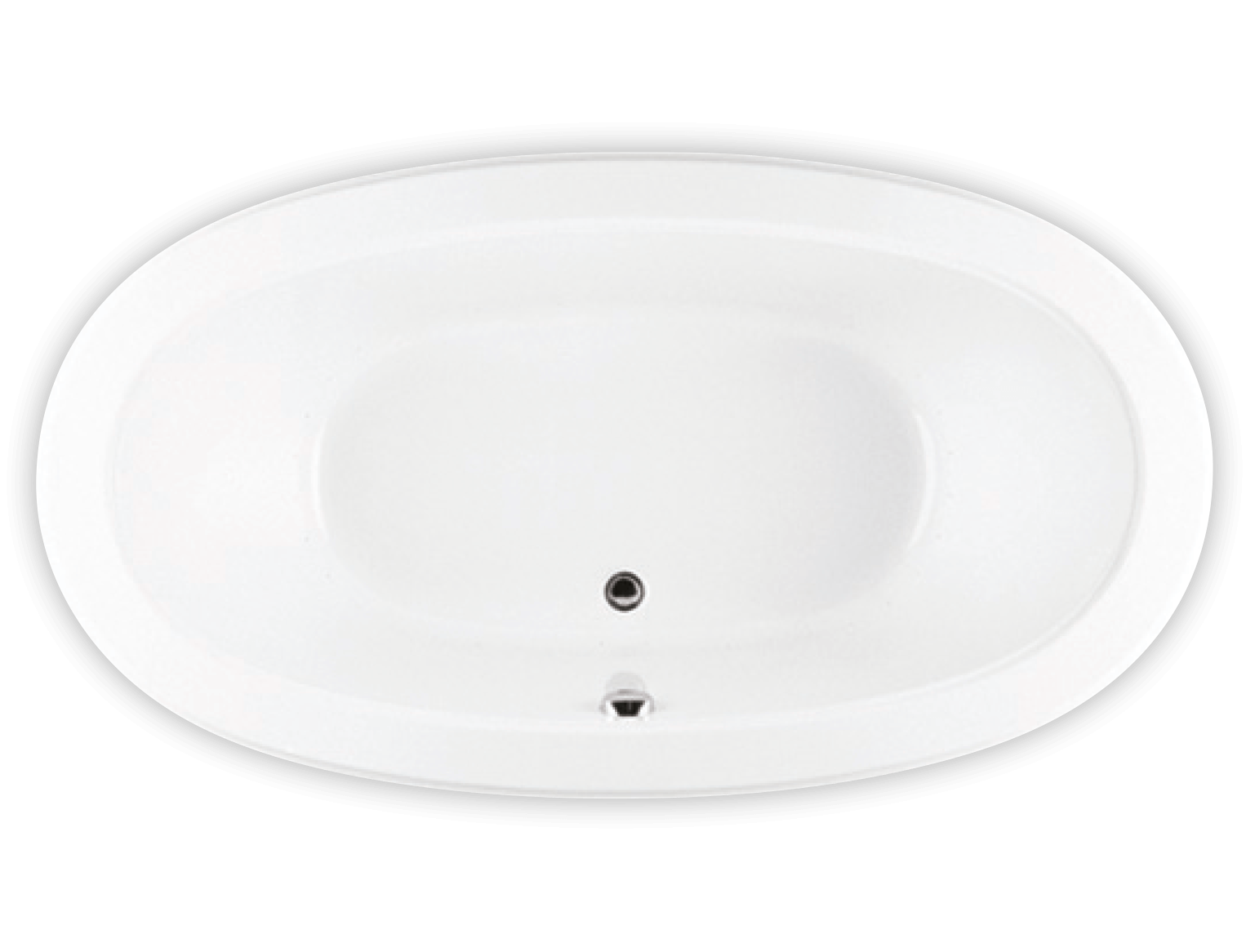 Bainultra Cella 7240 two person large clawfoot air jet bathtub for your modern bathroom