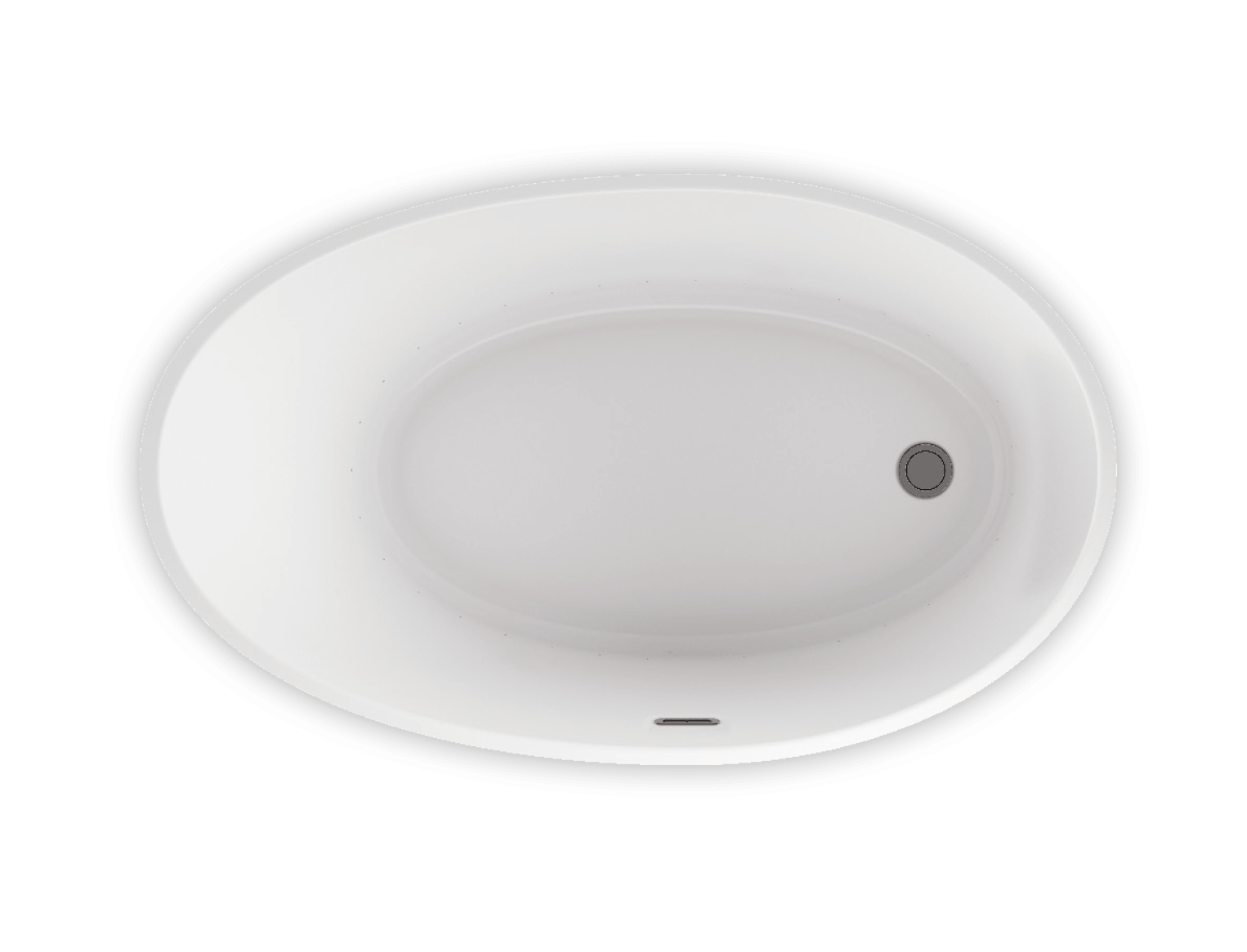 Bainultra Evanescence® 5936 freestanding air jet bathtub for your modern bathroom