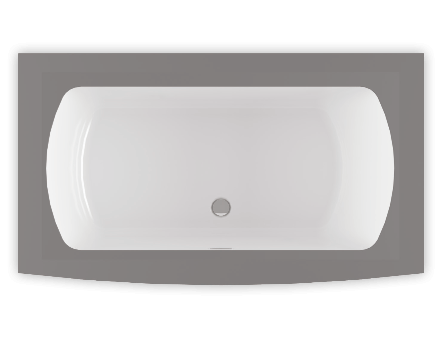 Monarch 7238F air jet bathtub for your modern bathroom