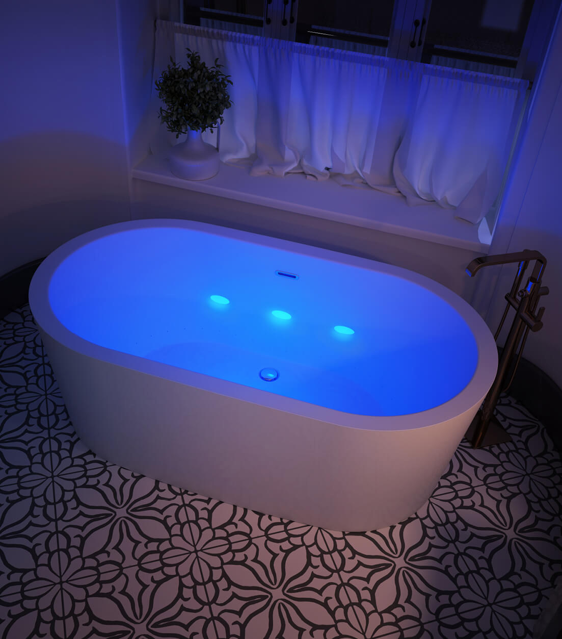 Illuzio bathtub