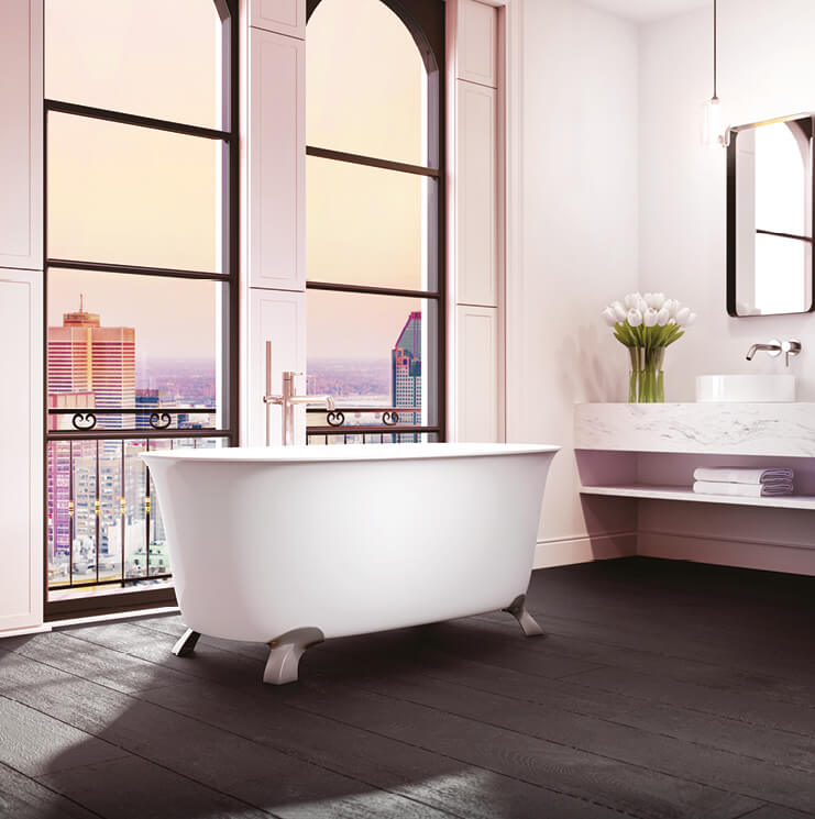 Vibe Tulipa freestanding bathtub for your master bathroom