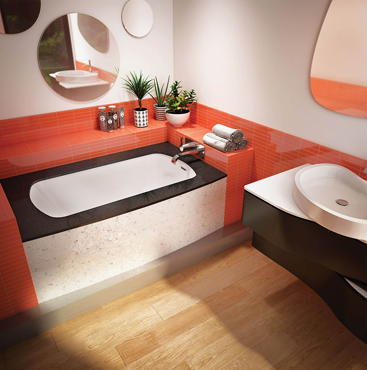 Monarch 6032R air jet bathtub for your modern bathroom