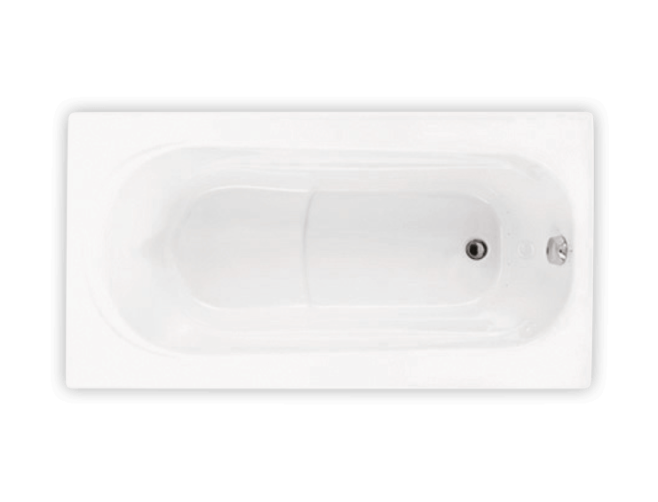 Bainultra Amma® 6032 alcove drop-in air jet bathtub for your master bathroom