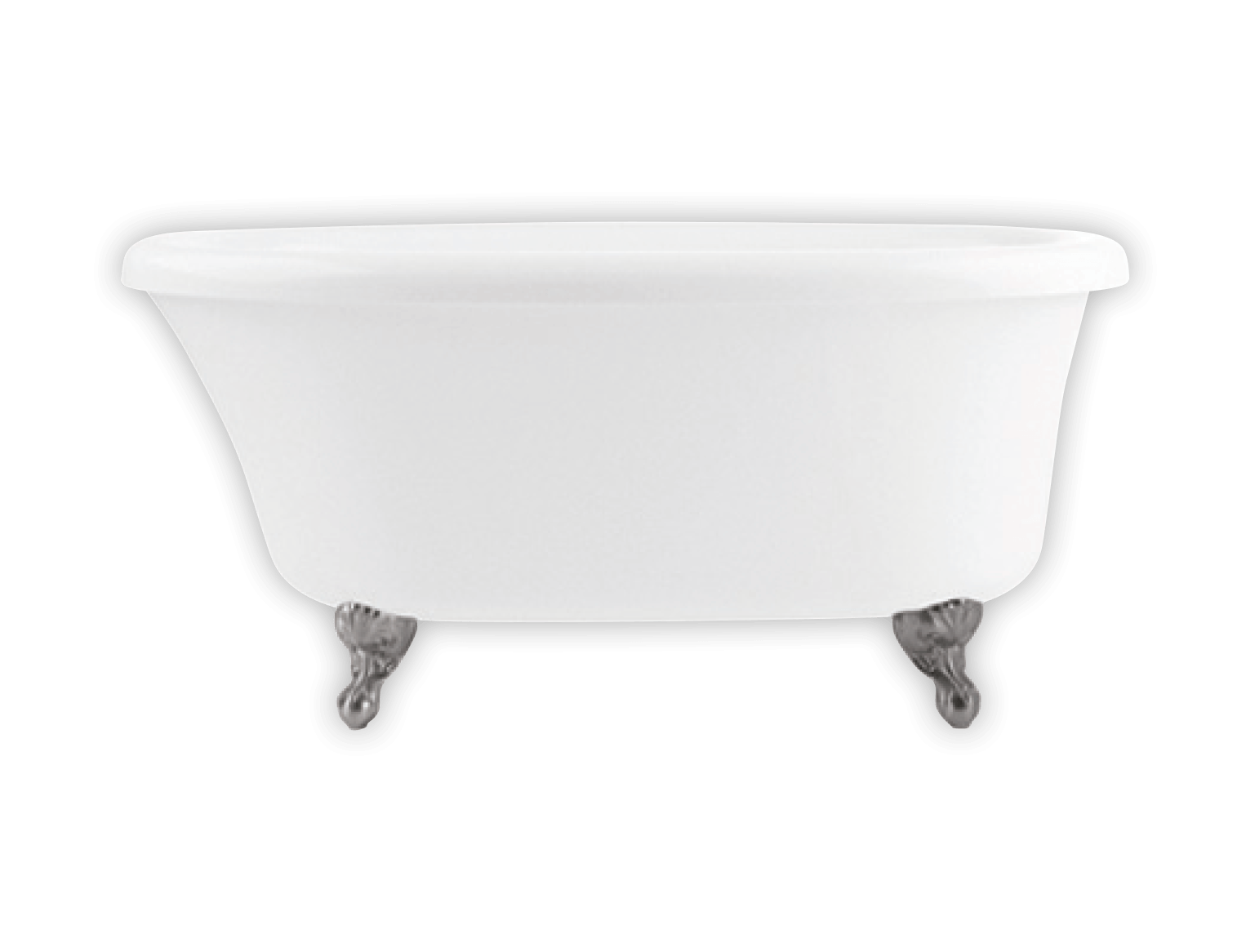 Bainultra Cella 6036 clawfoot air jet bathtub for your modern bathroom