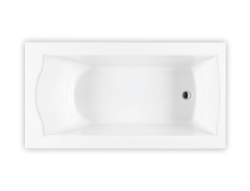 Bainultra Elegancia® collection freestanding alcove air jet bathtub for your master bathroom