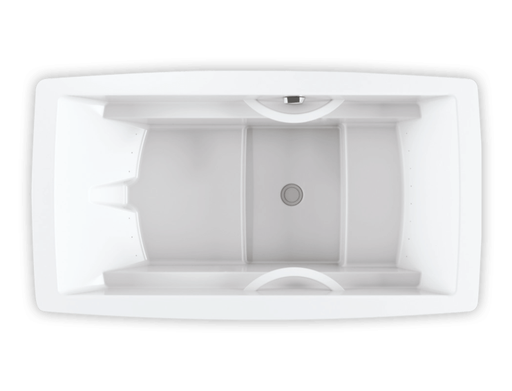 Bainultra Essencia 6838 freestanding air jet bathtub for your modern bathroom