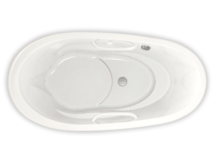 Essencia Oval 7236 air jet bathtub for your modern bathroom