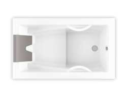 Bainultra Inua® collection drop-in air jet bathtub for your master bathroom