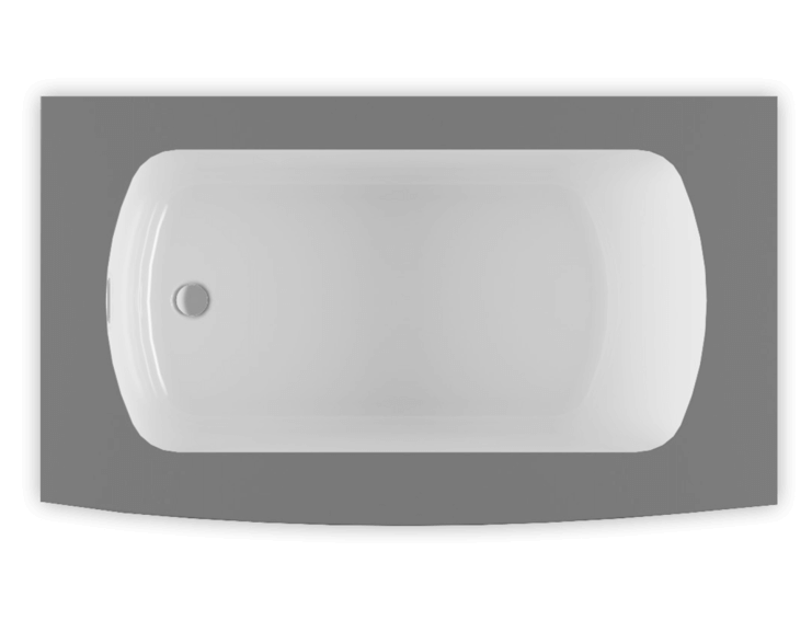 Monarch 6032L air jet bathtub for your modern bathroom