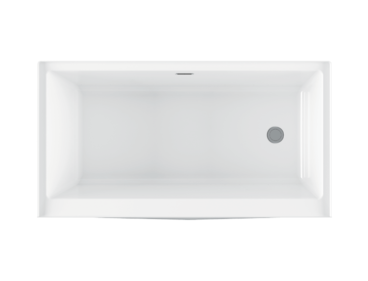 Bainultra Citti 6032 TRIO without insert alcove air jet bathtub for your modern bathroom